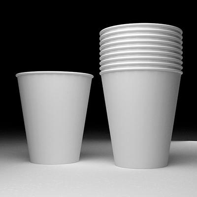 标准空白纸杯